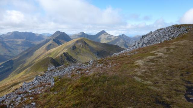 North Shiel Ridge - Aonach Meadhoin